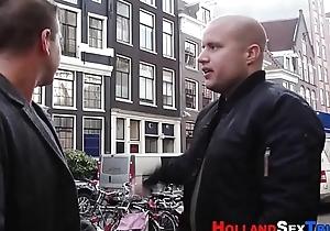 Dutch prozzie receives stifle b trap