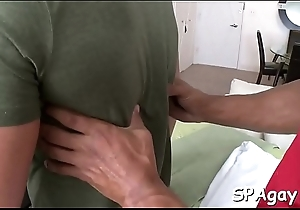 Homosexual chunk can't live without to get his anal tunnel fucked