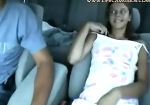 A young cadger asked his step-sister to give him a swallowing his cock applicable behind the wheel.  www.lifecamgirls.com
