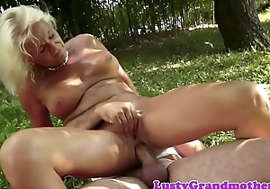 Faketit european granny assfucked completed