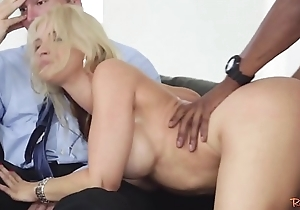 Doggystyle drilled milf cuckolds the brush cut corners