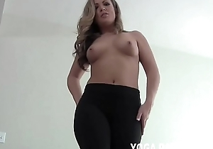Doing my yoga always makes you so oversexed JOI