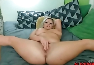 Imbecile plumpish blonde CocoLoca far gigantic twerking booty