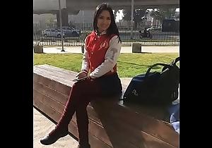 Hermosa colegiala Astrid