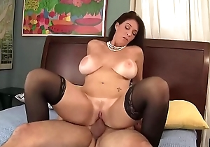Charlee Chase Bumping on Cock