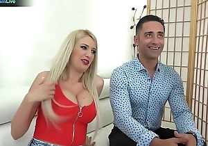 Blanche Summer, Nilla and Tiffany Rousso enjoys swingers sex orchestra