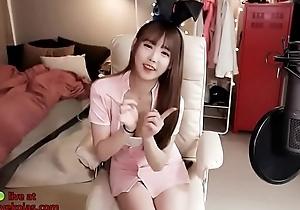Korean legal age teenager in sexy nurse uniform