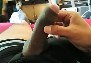 Sexy Femboy Plays With Cock