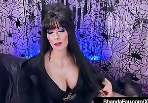 Daft Canadian Elvira Shanda Fay Creams After Sex!