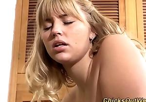 Unconditional slutty lesbian tongued