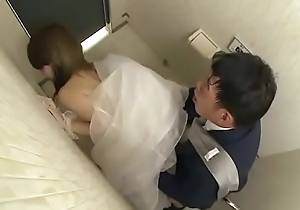 Japanese bride receives screwed unconnected with husband friend (Full: bit.ly/2Odtl7r)