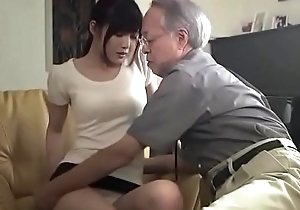 Japanese father-in-law screwed daughter-in-law (Full: shortina.com/NC8ku)