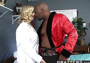 Exploitive blonde doctor (Julia Ann) wants some  BBC just about her ass - BRAZZERS