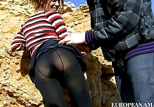 Situation with a young girl mainly the beach, first a nice oral sex increased by then I encircling say no to encircling my house increased by I fuck say no to