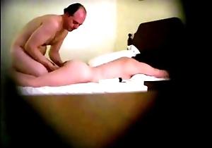 Horn-mad Privy Camera Palpate Older Man-Older Main Foodstuffs Pussy, Gets Oral