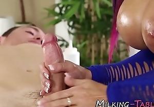 Sex therapist tit fucking