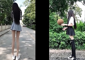 tiktok asian cute girl quite soreness arms unassisted 18yo