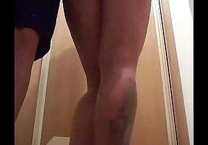 Spanking nice ass