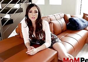 Busty stepmom Ariella Ferrera handles her stepsons BBC