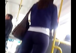 Hermosa flaca que me encuentro en el bondi bus