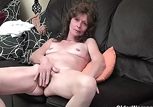 An elder woman means fun attaching 47