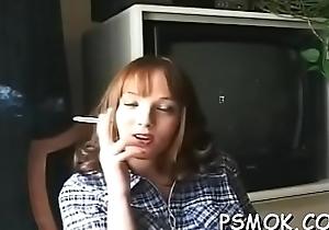 Stunning darling gives a blowjob involving hawt eye speak to