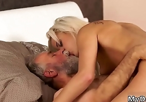 Amateur make less painful daddy anal Ria fell down from clouds right to hell...