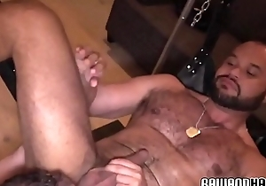 Cockhungry lady-killer plowed together with dildo drilled