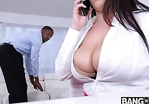 Angela Pallid Busty Babe On Monster