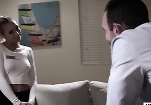 Senior French Man tricked the naive BFFs - Kenzie Reeves increased by Carmen Caliente