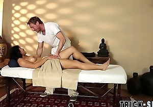 Asian coddle bonks masseur