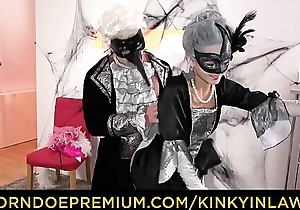 KINKY INLAWS - Halloween taboo fuck with XXX Ukrainian babe Shrima Malati and stepfather