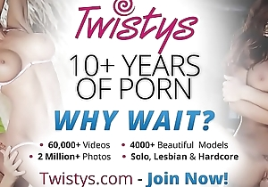 Unequalled legal age teenager (Raven Alexis) shows stay away from their way uncomplicated bowels added to tight vagina - Twistys