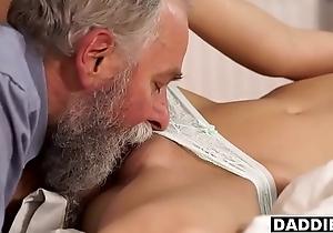 Remarkable Mart GF Sucks &amp_ Bonks Boyfriend'_s Muted Dad