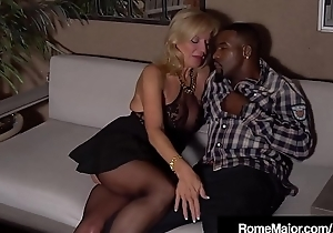 GILF Prestley St Claire Acquires Rome'_s Big Black Cock