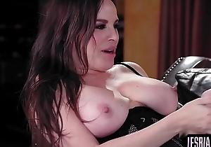 Hot dominatrix-bitch milf groans painless this babe cums eternal