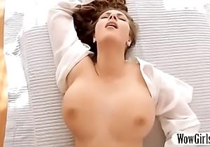 Bonny pornstar succeed near sensual knocker massaged plus screwed near doggy style with tit fuck