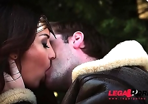 Big-busted sexy Wonder Unladylike Anissa Kate spreads will not hear of hot legs for intensive fuck GP257