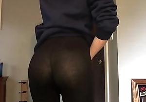 Cute boy in leggings