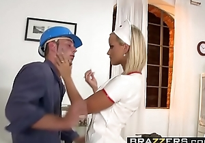 (Marry Queen, Senseless Max) - Burst on a difficulty Nurse - Brazzers