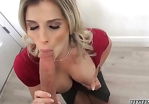 Big tits milf engulfing almost Cory Chase almost Revenge On Your Novelist