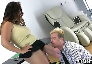 Nymphos bang men anal with huge strapons and burst out with hand-picked