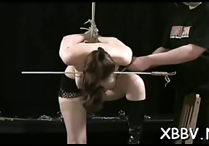 Sexy female naughty bdsm scenes with respect to castigation coupled with sex