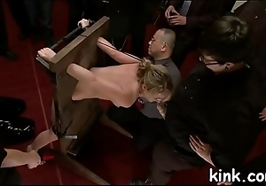 Adulteress blackmailed plus dominated in subjection with anal sex.
