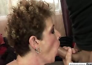 Pissing matured fucked involving