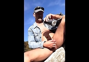 hard cum in the late sun