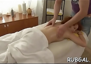 Free and easy nymph'_s hawt making receives revealed by means of unnatural massage