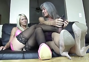 Pantyhose Delight in 3 TRAILER