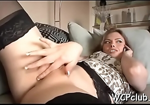 Cutie gives wonderful oral sex in the air front feeling knob in the air wet snatch