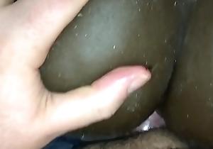 Big menacing loot sex-toy bunting off session